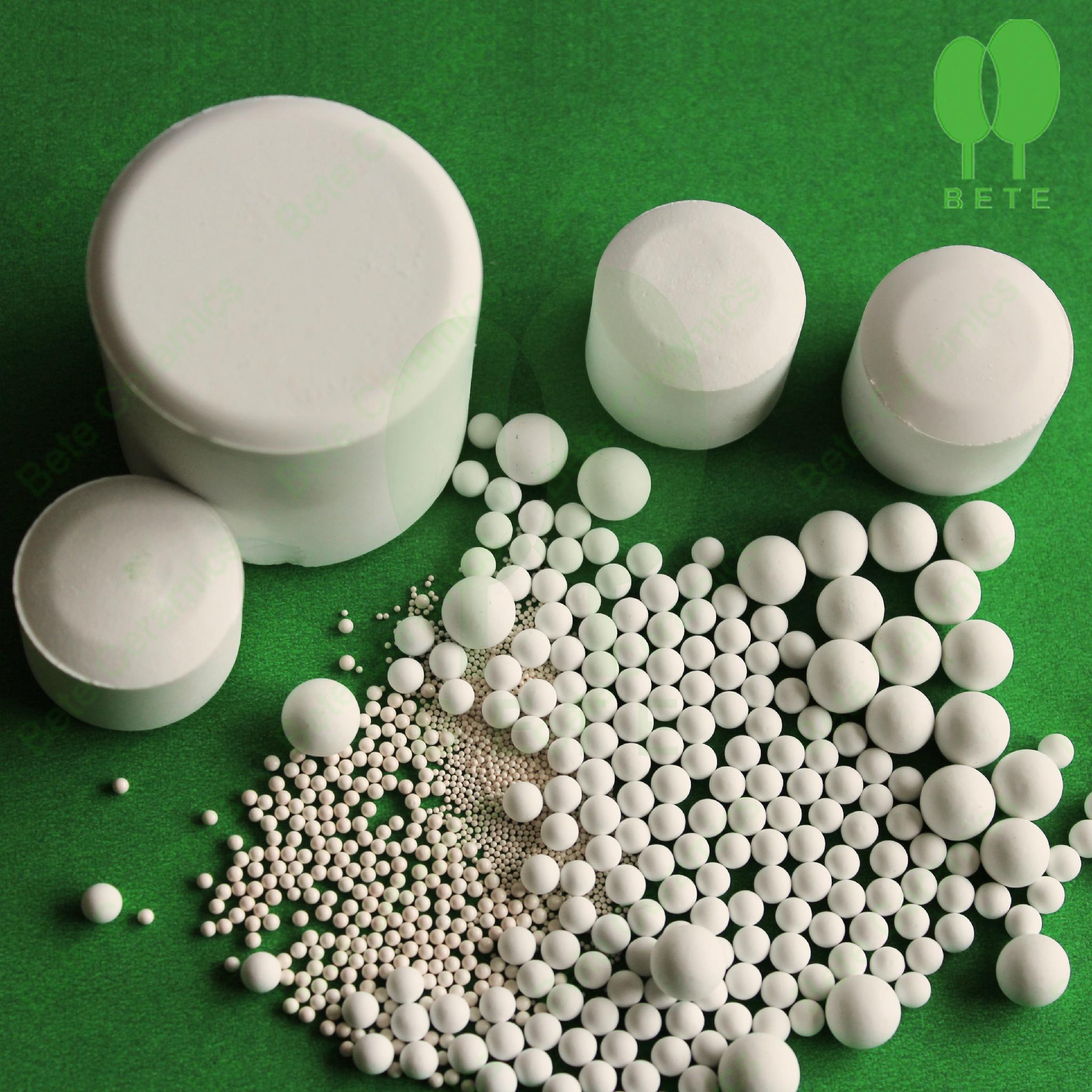 high purity high hardness alumina ceramic ball 3