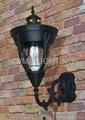 outdoor garden wall lamp