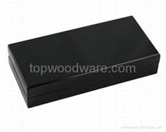 high gloss finish wooden pen gift box