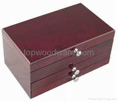 wooden high quality jewelry packing gift box