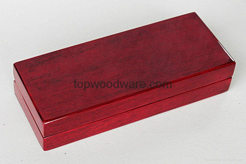 rosewood high gloss finish wood pen boxes 2