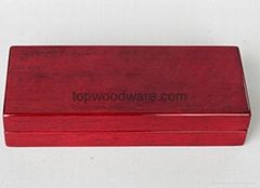 rosewood high gloss finish wood pen boxes