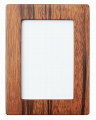 walnut color wooden picture/Photo frame