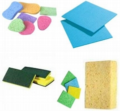 cellulose cleaning foam sponge