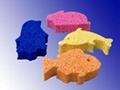fish cleaning foam sponge
