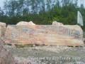 晚霞红景观石 2
