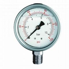 Glycerine Filled Pressure Gauge