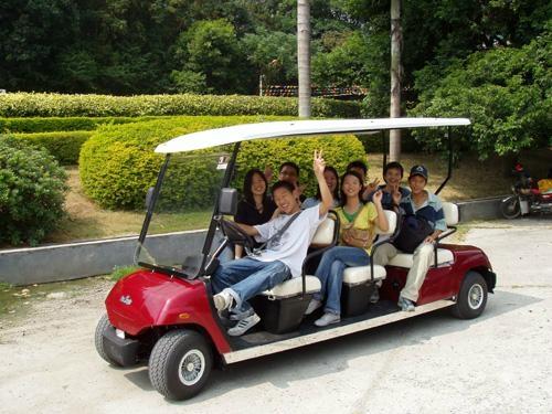 ECARMAS resort buggy shuttle cart 2