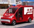 Electric fire fighting truck fire fighter ECARMAS 1