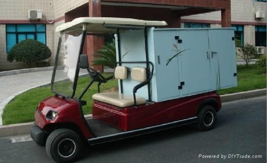 China ECARMAS electric house keeping cart 2