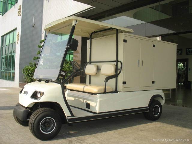 China ECARMAS electric house keeping cart 5