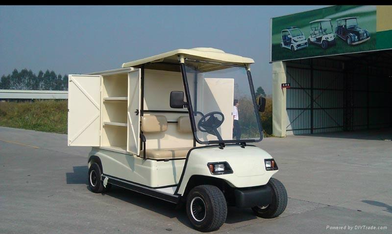 China ECARMAS electric house keeping cart 4