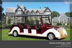 ECARMAS 8 seats electric classic cart for sale
