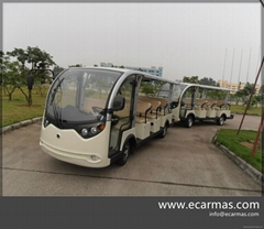 China ECARMAS electric shuttle cart