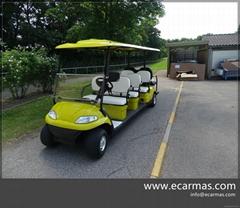 2021 ECARMAS resort b   y shuttle cart