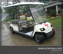China ECARMAS golf ambulance cart