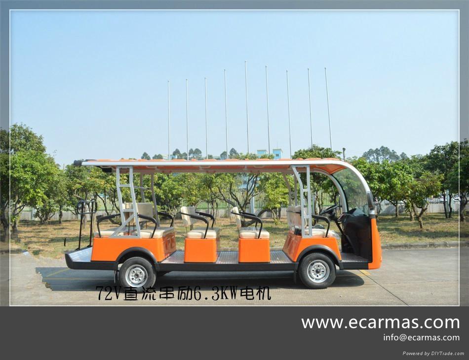 ECARMAS electric passenger moving buggy 1