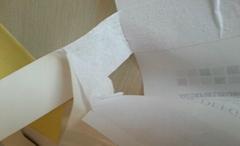 分層雙面膠帶