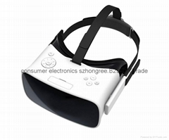 in one 3D VR Virtual Reality with RK3288 quad core,android 5.1,Resolotion 1440*
