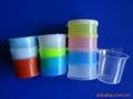 4  color medicine cup