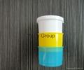 three color medicine cup