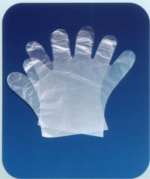 Disposable pe glove china manufacturer disposable for Diy plastic gloves