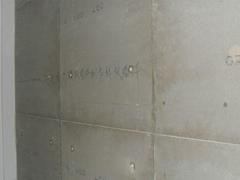 免拆模板墙体浇注工艺