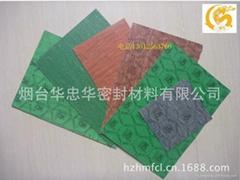 烟台仙阁绿色无石棉橡胶板密封垫