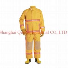 Fire fighting suit fire garment
