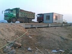 Truck scale for heavy trucks