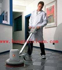学校过道清洗保洁洗地机
