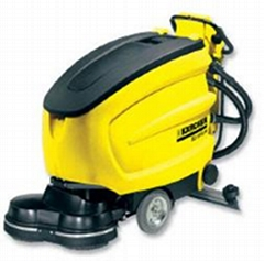 地面油污叉車印洗地機