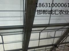 智能陽光板溫室大棚