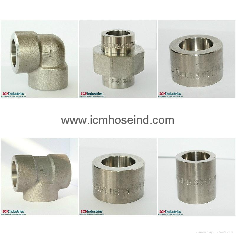 A105 Forged carbon steel pipe fittings 3