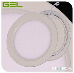 Round Shape LED Panel Light Φ240*12MM 18W 1600LM Ra>80 6000~6500K CE RoHS Pass