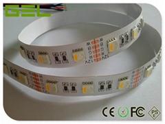4-in-1 RGBW RGBWW SMD5050 LED Strip Light 60LED/M High Brightness >20LM/LED    (Hot Product - 1*)