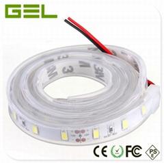 1x5M SMD5630 Flex LED Strip Light 300LED DC12/24V 55~56LM/LED IP67 Waterproof