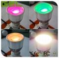 Remote Control GU10 LED Spotlight, RGBW