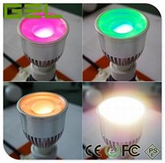 Remote Control GU10 LED Spotlight, RGBW Color LED Spotlight, WiFi LED Spotlights (Hot Product - 1*)