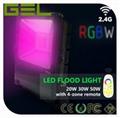2.4G Remote Control LED Flood Light, RGBW LED Flood Light, WiFi LED Flood Lights 6