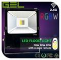 2.4G Remote Control LED Flood Light, RGBW LED Flood Light, WiFi LED Flood Lights 1