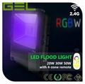 2.4G Remote Control LED Flood Light, RGBW LED Flood Light, WiFi LED Flood Lights 9