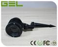 9W RGB+WW Multi-color Change 2.4G Wireless Controlled LED Garden Lawn Light IP65 5