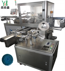 YN-780 AUTOMATIC BLUE BUBBLE PACKNG&LABELING MACHINE