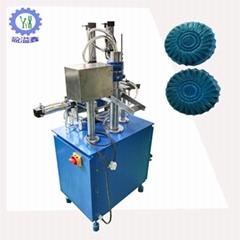 Semi-automatic blue bubble soap packing machine