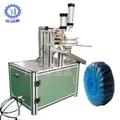 供應YN—700手動藍泡泡潔廁塊百褶包裝機 3