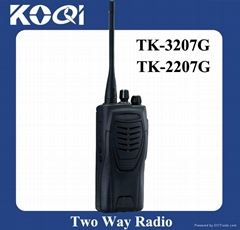 Wireless intercom Two way radio TK-3207G for military equipment