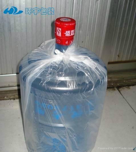 桶裝水防塵塑料薄膜袋可定製 1