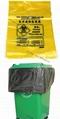 大號醫用垃圾黑色黃色塑料平口垃圾袋可定製 5