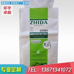 廠家定做覆膜彩印化肥硅藻泥包裝編織袋